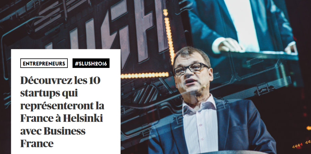 maddyness article sur slush 2016